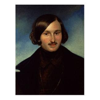 Retrato de Nikolay Gogol, 1841 Postal