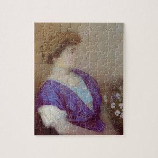 Retrato de Odilon Redon- del marqués de Gonet Puzzle Con Fotos