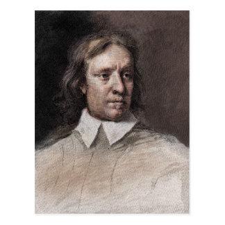 Retrato de Oliver Cromwell Postales