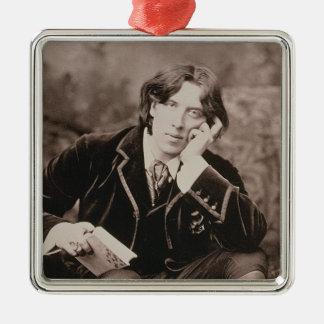 Retrato de Oscar Wilde (1854-1900), 1882 (pho de b Adorno De Reyes