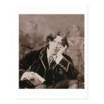 Retrato de Oscar Wilde (1854-1900), 1882 (pho de b Tarjeta Postal