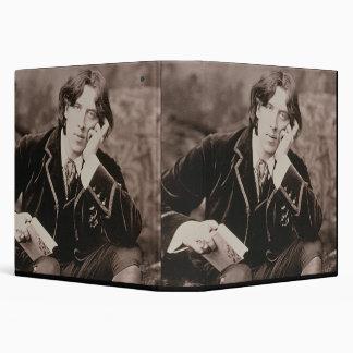 """Retrato de Oscar Wilde (1854-1900), 1882 (pho de Carpeta 1 1/2"""""""