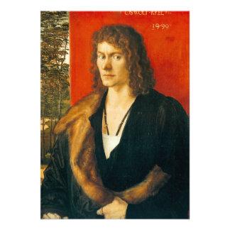 Retrato de Oswolt Krel de Albrecht Durer Anuncio Personalizado