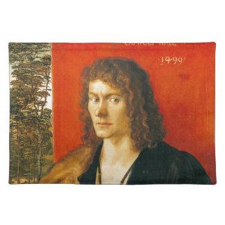 Retrato de Oswolt Krel de Albrecht Durer Manteles Individuales