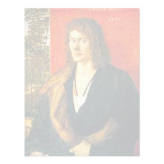 Retrato de Oswolt Krel de Albrecht Durer Membrete A Diseño