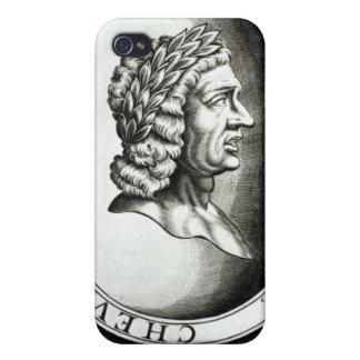 Retrato de Ovid iPhone 4 Fundas