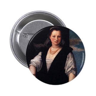 Retrato de Pablo Veronese- de la mujer con el niño Pin
