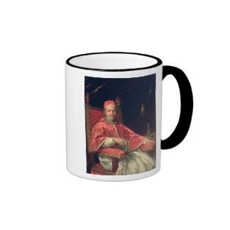 Retrato de papa Clemente IX Taza De Dos Colores