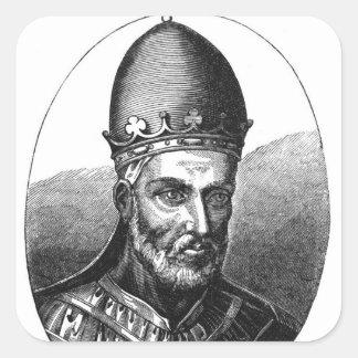 Retrato de papa Honorio III Colcomanias Cuadradases