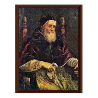 Retrato de papa Julio Ii de Raffael Postal