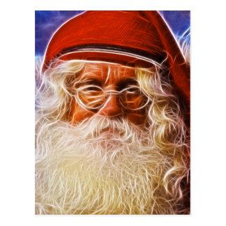 Retrato de Papá Noel del navidad del padre del Vie Postal