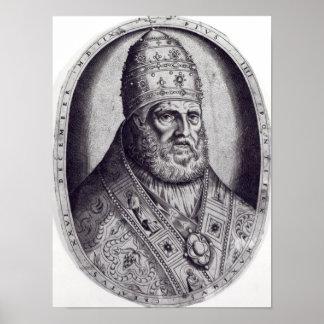 Retrato de papa Pío IV, 1559 Impresiones