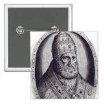 Retrato de papa Pío IV, 1559 Pin Cuadrado
