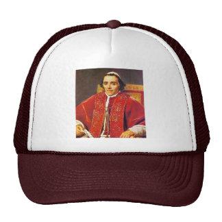 Retrato de papa Pius Vii de David Jacques-Louis Gorras
