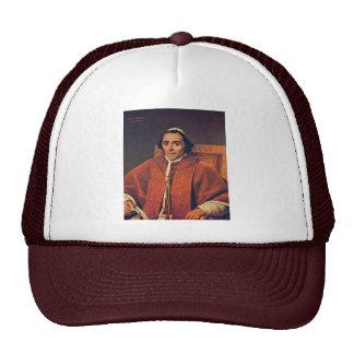 Retrato de papa Pius Vii de David Jacques-Louis ( Gorra
