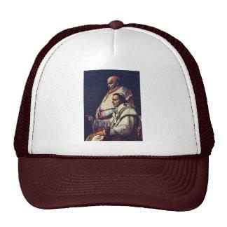 Retrato de papa Pius Vii y Caprara cardinal., B Gorras