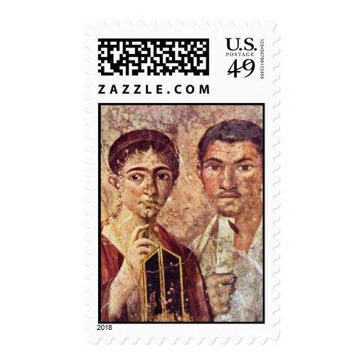 Retrato de Paquius Proculus y su esposa por Meist Envio
