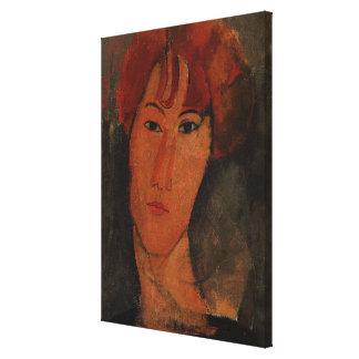 Retrato de Pardy, c.1915 (aceite en lona) Impresión En Lona