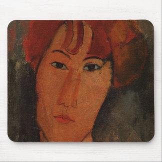Retrato de Pardy, c.1915 (aceite en lona) Alfombrilla De Raton