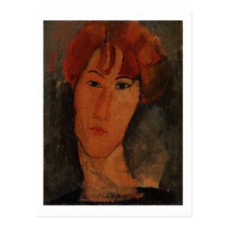 Retrato de Pardy, c.1915 (aceite en lona) Postal