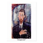 Retrato de Paul Alexander de Modigliani Amedeo Tarjetas Postales