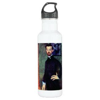 Retrato de Paul Alexanders por Modigliani Botella De Agua De Acero Inoxidable