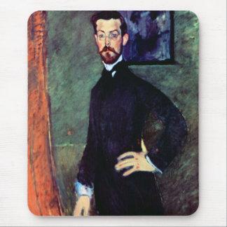 Retrato de Paul Alexanders por Modigliani Alfombrillas De Ratones