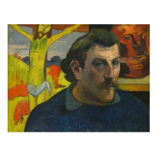 Retrato de Paul Gauguin, 1889 Postal