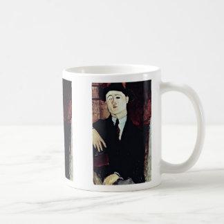 Retrato de Paul Guillaume de Modigliani Amedeo Taza De Café