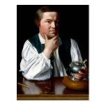 Retrato de Paul Revere Tarjetas Postales