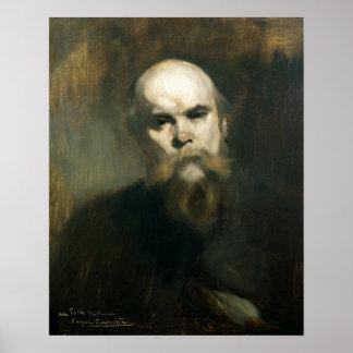 Retrato de Paul Verlaine 1890 Poster