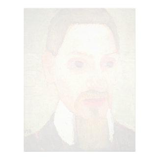 Retrato de Paula - de Becker de Rainer Maria Rilke Membrete A Diseño