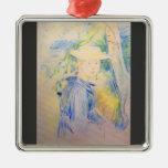 Retrato de Paule Gobillard de Berthe Morisot Ornamentos De Navidad
