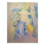 Retrato de Paule Gobillard de Berthe Morisot Poster