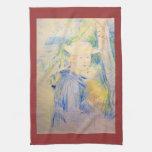 Retrato de Paule Gobillard de Berthe Morisot Toallas De Mano