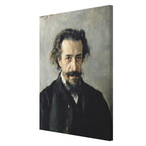 Retrato de Pavel Blaramberg 1888 Impresiones De Lienzo
