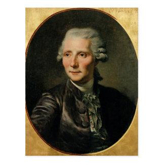 Retrato de Pedro Agustín Caron de Postales