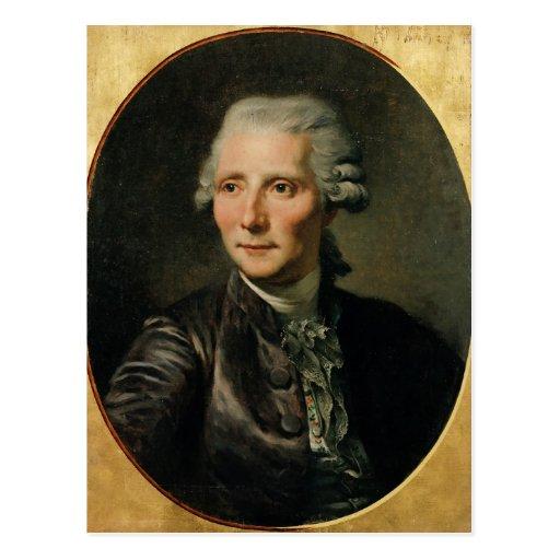 Retrato de Pedro Agustín Caron de Tarjeta Postal