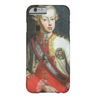 Retrato de Pedro Leopoldo di Lorena, c.1750 Funda Para iPhone 6 Barely There