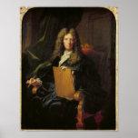 Retrato de Pedro Mignard c.1690 Impresiones