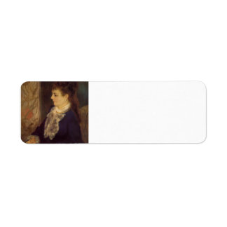 Retrato de Pedro Renoir- de un canguro anónimo Etiquetas De Remite