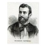 Retrato de Pellegrino Matteucci Postal