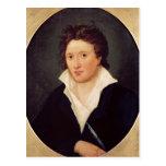 Retrato de Percy Bysshe Shelley, 1819 Tarjetas Postales