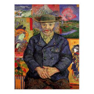 Retrato de Pere Tanguy de Vincent van Gogh Tarjetas Postales