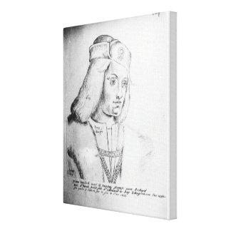 Retrato de Perkin Warbeck Impresion En Lona