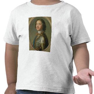 Retrato de Peter el grande Camisetas
