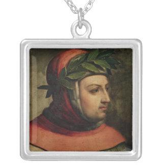 Retrato de Petrarch Collar Plateado