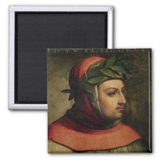Retrato de Petrarch Iman Para Frigorífico