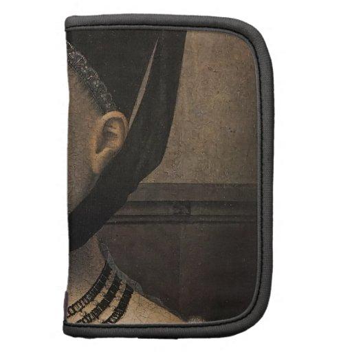 Retrato de Petrus Christus de una mujer joven Organizador