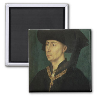 Retrato de Philip el buen duque de Borgoña Imán Cuadrado